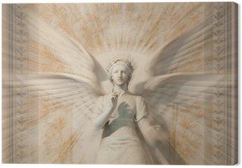 Obraz na Płótnie Rzeźba anioła kobiety.