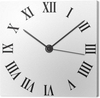 Obraz na Płótnie Rzymski liczebnik clock