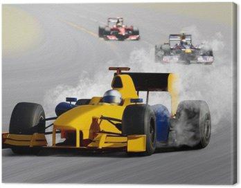 Obraz na Płótnie Samochód wyścigowy
