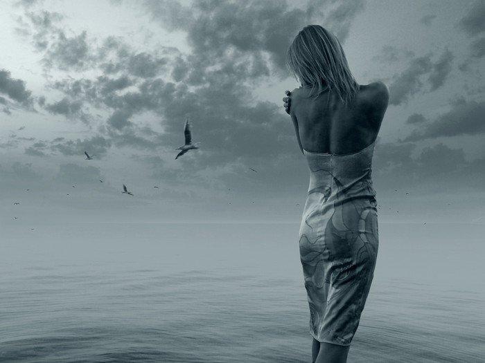 Obraz na Płótnie Samotny -