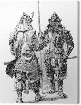 Obraz na Płótnie Samurai Japan