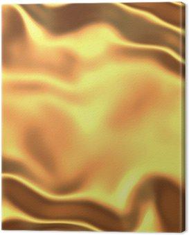 Obraz na Płótnie Satyna złoto