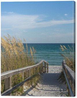Obraz na Płótnie Ścieżka do plaży w raju