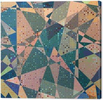 Obraz na Płótnie Seamless geometryczny wzór
