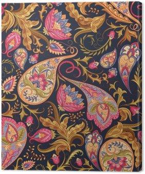 Obraz na Płótnie Seamless Paisley wzór