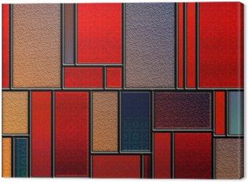 Obraz na Płótnie Seamless teksturowanej barwione szklany panel
