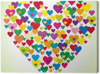 Obraz na Płótnie Serce serc