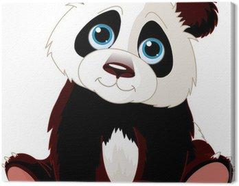 Obraz na Płótnie Siedząc Panda