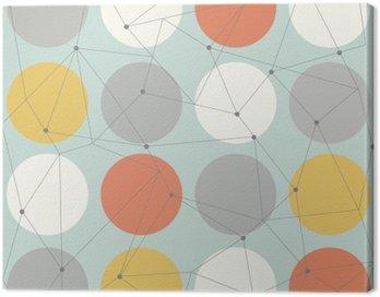 Obraz na Płótnie Skandynawskich geometryczny nowoczesny szwu