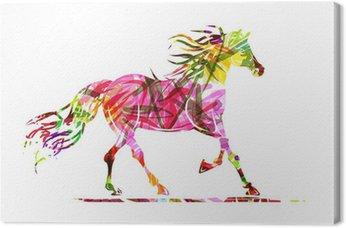 Obraz na Płótnie Sketch jazda z kwiatowym ornamentem dla swojego projektu. Symbol
