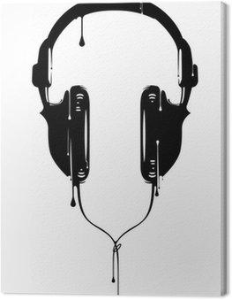 Słuchawki malowane