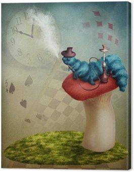 Obraz na Płótnie Smoking Caterpillar