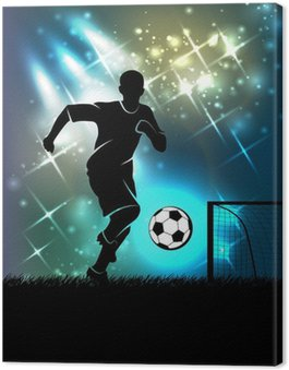 Obraz na Płótnie Sport tło temat piłki nożnej