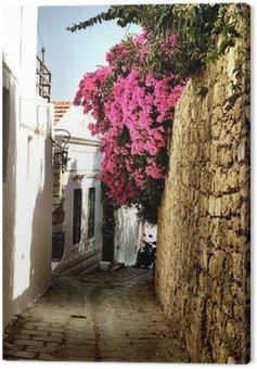Obraz na Płótnie Średniowieczna ulica