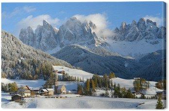 Obraz na Płótnie St Magdalena zimą
