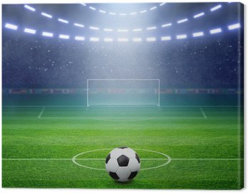 Obraz na Płótnie Stadion piłkarski