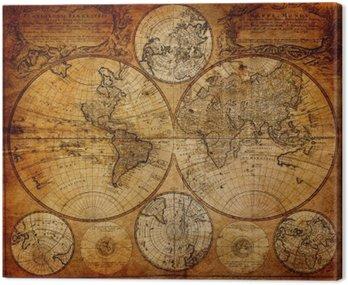 Obraz na Płótnie Stara mapa (1746)