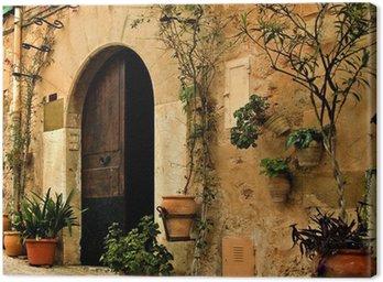 Obraz na Płótnie Stara wieś śródziemnego