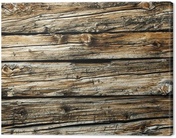 Obraz na Płótnie Stare drewno