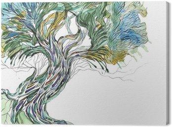 Obraz na Płótnie Stare drzewo