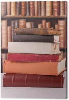 Obraz na Płótnie Stare książki biblioteka