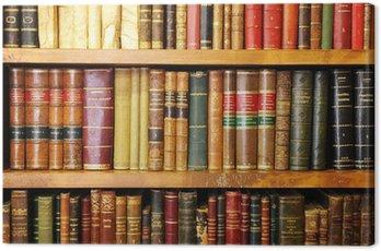 Obraz na Płótnie Stare książki, księgarnia, biblioteka