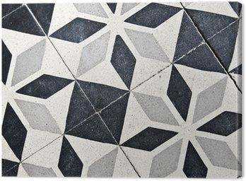 Obraz na Płótnie Stare płytki cementowe