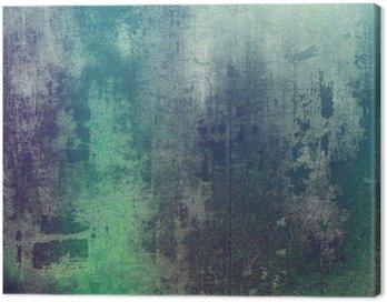Obraz na Płótnie Stare tekstury jako abstrakcyjne grunge. Z różnych wzorach kolorystycznych: zielony; purple (fioletowy); szary; cyan