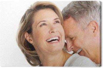 Obraz na Płótnie Starszy para