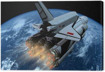 Obraz na Płótnie Statek kosmiczny