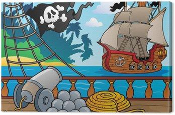Statek piracki pokład temat 4