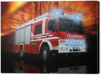 Obraz na Płótnie Straż Pożarna