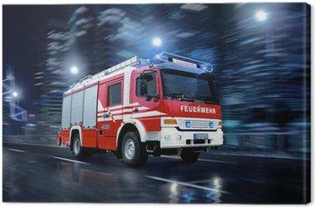 Obraz na Płótnie Strażacy w akcji