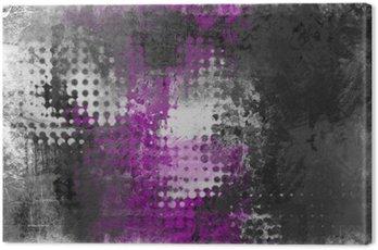 Obraz na Płótnie Streszczenie grunge z szarym, białym i fioletowym