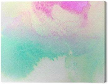 Obraz na Płótnie Streszczenie kolorowe akwarela malowane tła
