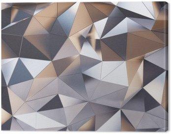 Obraz na Płótnie Streszczenie metalowej ścianie