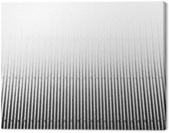 Obraz na Płótnie Streszczenie minimalistyczne białe paski tło z liniami pionowymi i cel. Skopiuj miejsca. Tekstura.