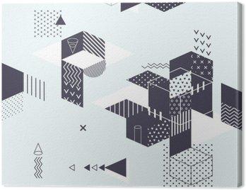 Obraz na Płótnie Streszczenie nowoczesne geometryczne tle