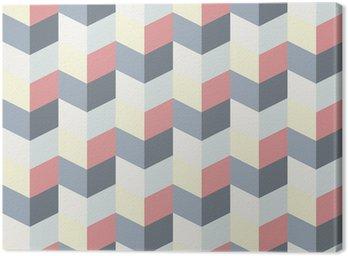 Obraz na Płótnie Streszczenie retro geometryczny wzór