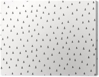 Obraz na Płótnie Streszczenie Scribble Wzór