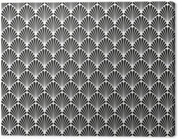 Streszczenie szwu Art Deco Wektor wzór tekstury