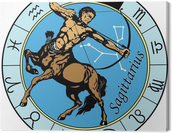 Obraz na Płótnie Strzelec zodiak