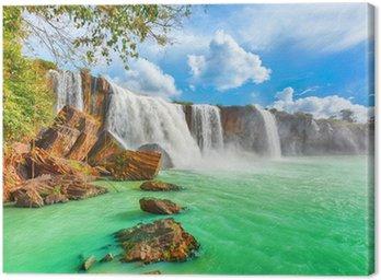 Obraz na Płótnie Suche nur wodospad