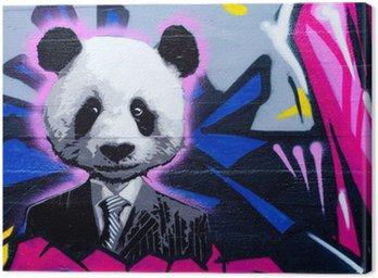Obraz na Płótnie Suited panda