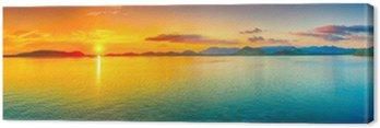 Obraz na Płótnie Sunset Panorama