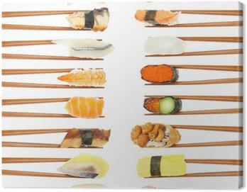 Obraz na Płótnie Sushi & chopsticks