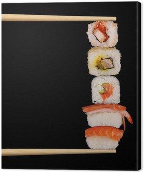 Obraz na Płótnie Sushi Maxi