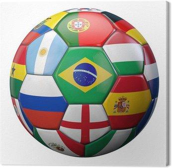 Obraz na Płótnie Świat Piłka nożna