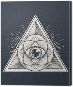 Obraz na Płótnie Świętej geometrii