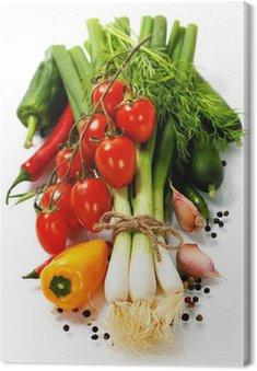 Obraz na Płótnie Świeże warzywa